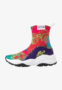 Versace Jeans Couture - CHUNKY SOLE - High-top trainers - multicolor - 1