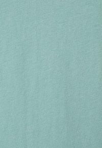 Weekday - LAST V NECK - T-shirt basic - greyish green - 2