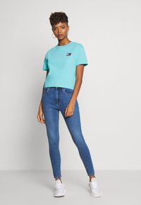 New Look - SUPERSOFT - Jeansy Skinny Fit - mid blue - 1