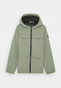 Abercrombie & Fitch - FIELD JACKET - Winter coat - green - 0