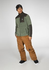 Protest - ADAM - Fleece jacket - green spray - 1