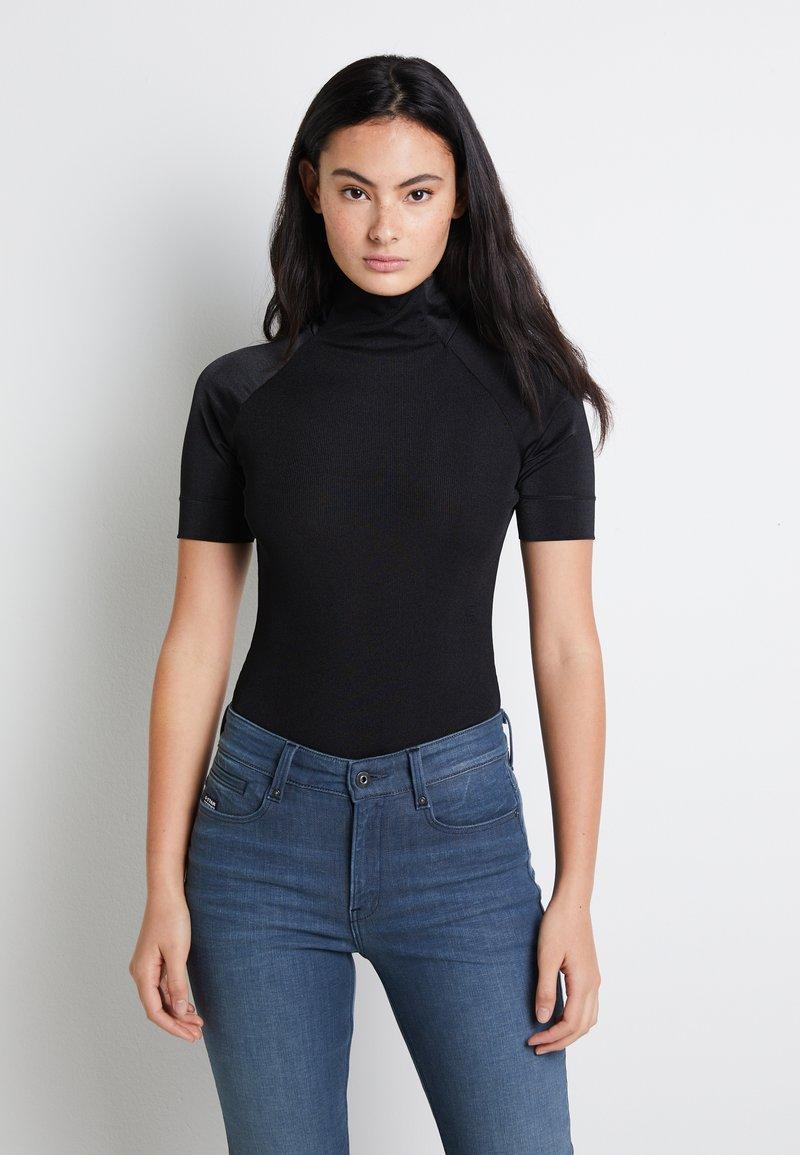 G-Star - MELAM FUNNEL BODY - Print T-shirt - dark black