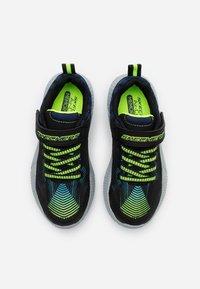 Skechers - INTERSECTORS PROTOFUEL - Tenisky - black/blue/light blue/lime - 3