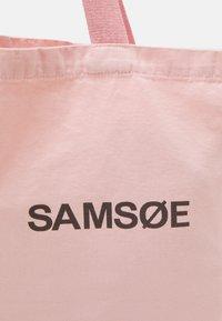 Samsøe Samsøe - FRINKA SHOPPER - Shoppingväska - powder pink - 3