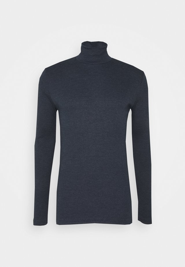 MERKUR - Long sleeved top - dark sapphire melange