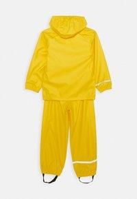 Name it - NKNDRY RAIN SET - Pantaloni impermeabili - empire yellow - 1