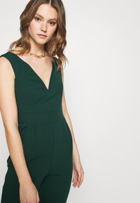 WAL G. - HEIDI LOW V NECK - Jumpsuit - forest green - 3