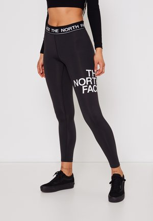 FLEX MID RISE  - Tights - black/white