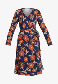 edc by Esprit - WRAP DRESS - Day dress - navy - 5