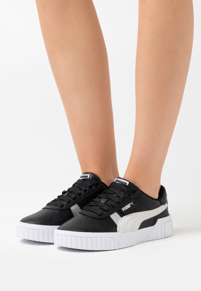 Puma - CALI VARSITY  - Trainers - black/white
