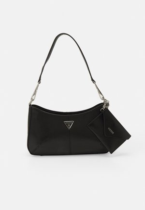LAYLA TOP ZIP SHOULDER SET - Handbag - black