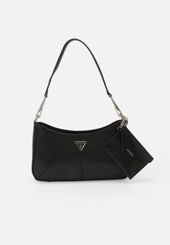 LAYLA TOP ZIP SHOULDER SET - Handtasche - black