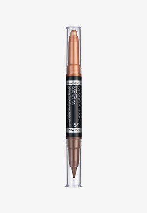 EYEMAZING DOUBLE EFFECT EYESHADOW & LINER - Oogschaduw - 002 molten metal