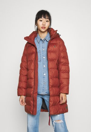 WHISTLER SLIM LONG COAT - Vinterkåpe / -frakk - dry red