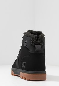 DC Shoes - WOODLAND - Korkeavartiset tennarit - black - 3