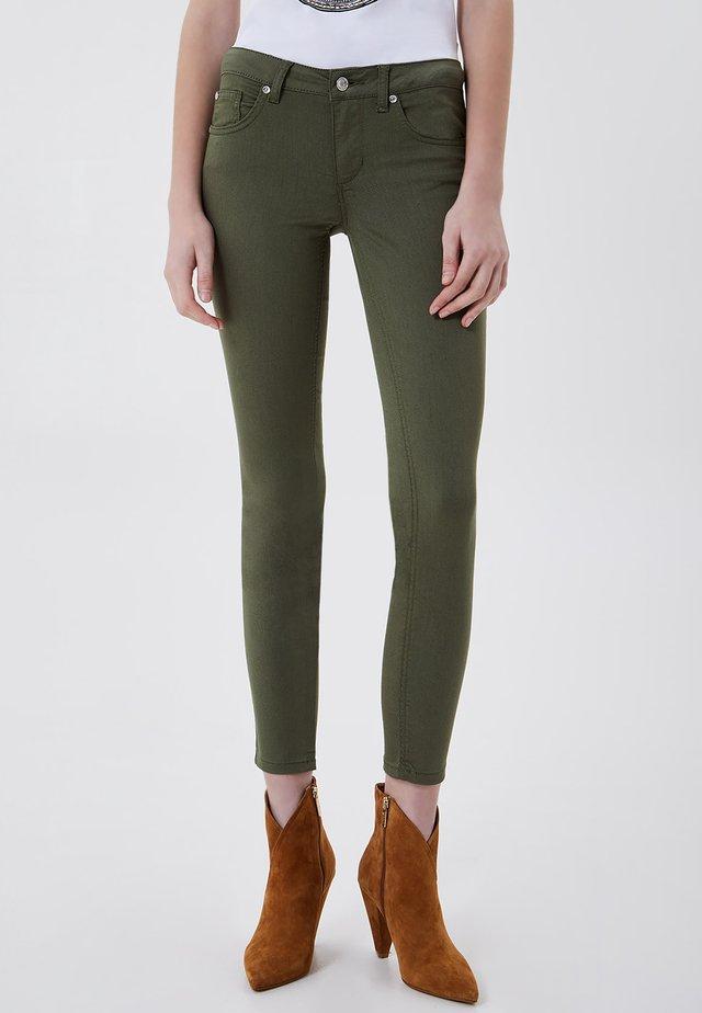 Skinny džíny - sage