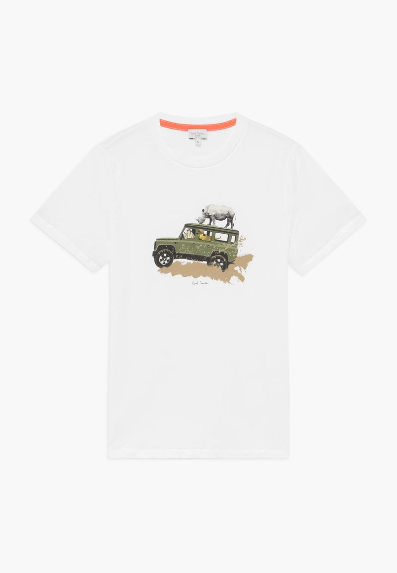 Paul Smith Junior - ADONE - Print T-shirt - white
