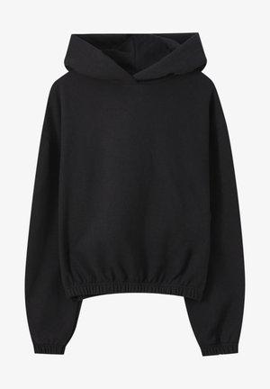 Kapuzenpullover - black