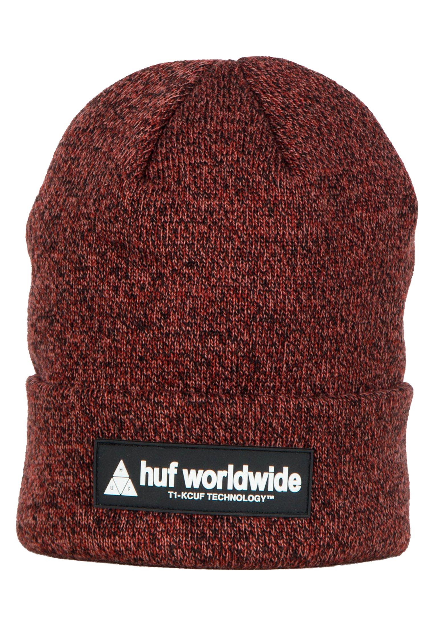 Huf Mütze - Rose Wood Red/rot-meliert