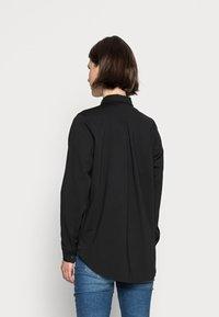 Marc O'Polo - OVERSHIRT LONG - Button-down blouse - black - 2