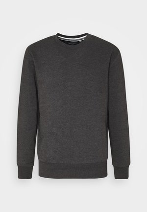 JONES - Felpa - charcoal marl/jet black