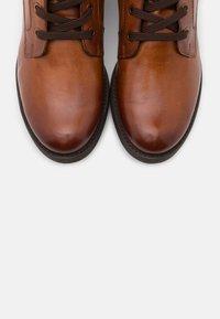 Bugatti - RONJA - Lace-up ankle boots - cognac - 5