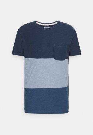TEE - T-shirt print - blues