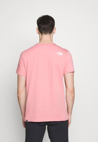 The North Face - MENS SIMPLE DOME TEE - T-shirt basic - mauveglow - 2