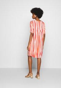 Barbara Lebek - Day dress - coral/ orange/ taupe - 2