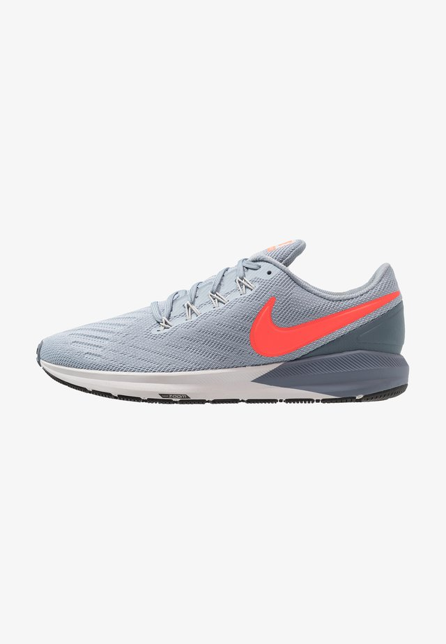 AIR ZOOM STRUCTURE 22 - Stabilty running shoes - obsidian mist/bright crimson/armory blue