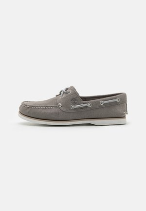 CLASSIC BOAT 2 EYE - Scarpe da barca - medium grey