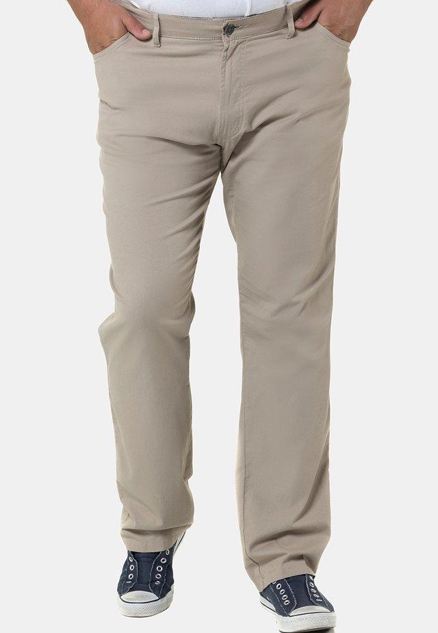 Jeans straight leg - sand