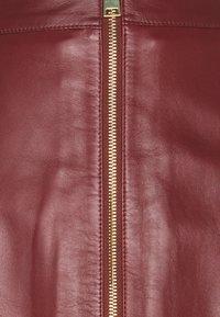 DAY Birger et Mikkelsen - DAY TODAY - Leather skirt - fired brick - 2
