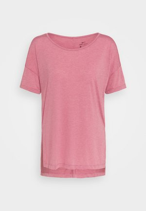 YOGA LAYER - T-shirt basic - desert berry/arctic pink