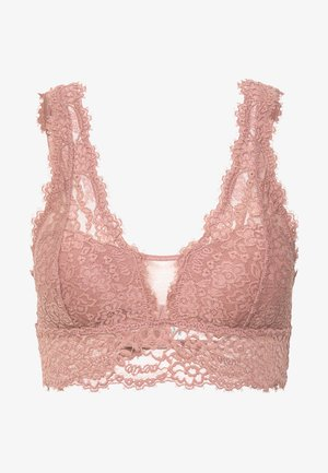 ROMANTIC PLUNGE BRALETTE - Triangle bra - meadow
