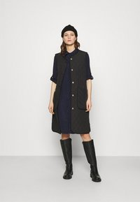 Saint Tropez - ELODIE DRESS - Košilové šaty - blue deep - 1