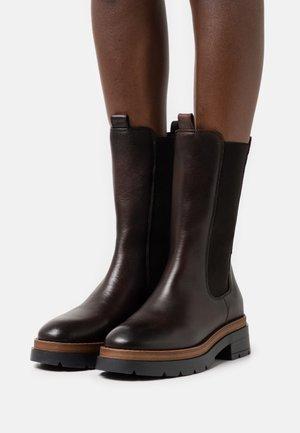 FILIPPA  - Platform boots - dark brown