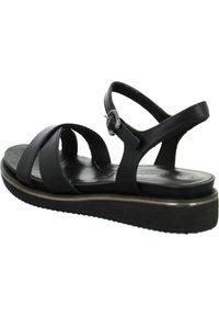 Tamaris - Wedge sandals - schwarz - 4