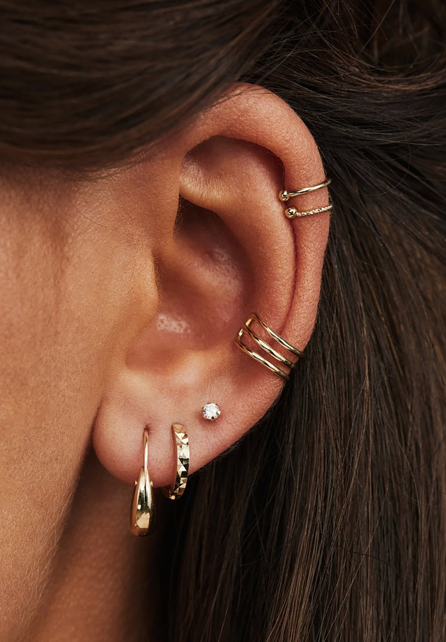 14 CARAT GOLD - Boucles d'oreilles - gold