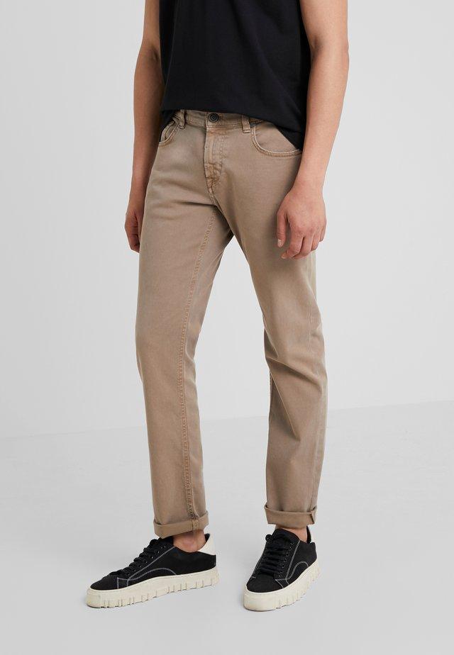 JOHN - Jeans straight leg - beige