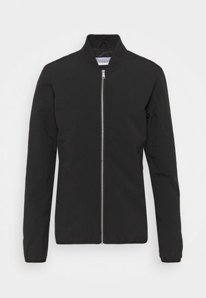 GRID JACKET - Bomber Jacket - black