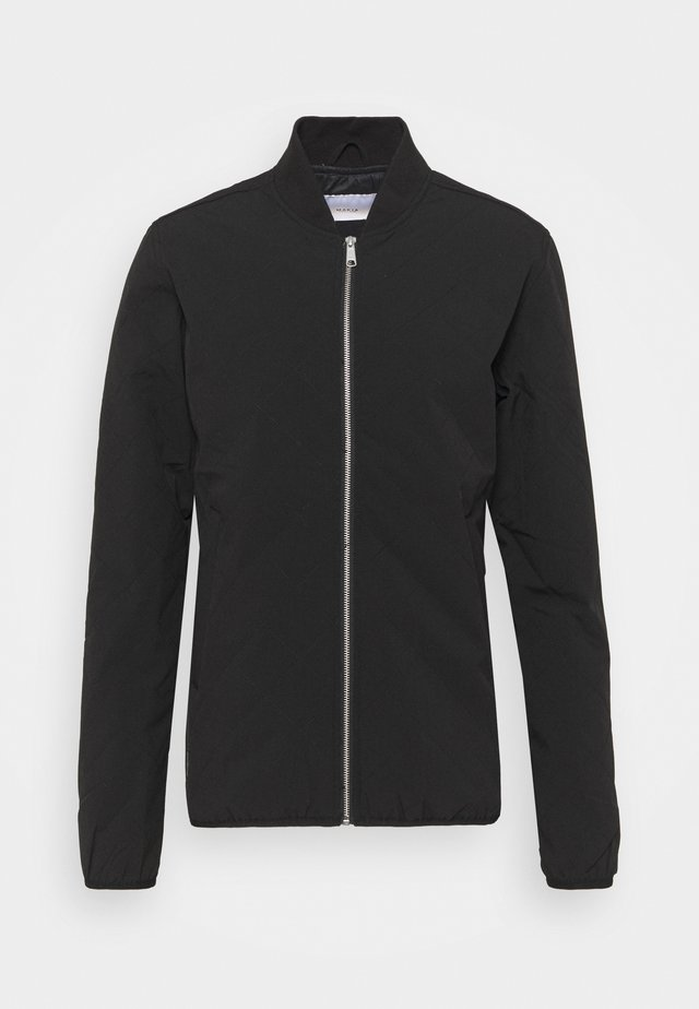 GRID JACKET - Blouson Bomber - black