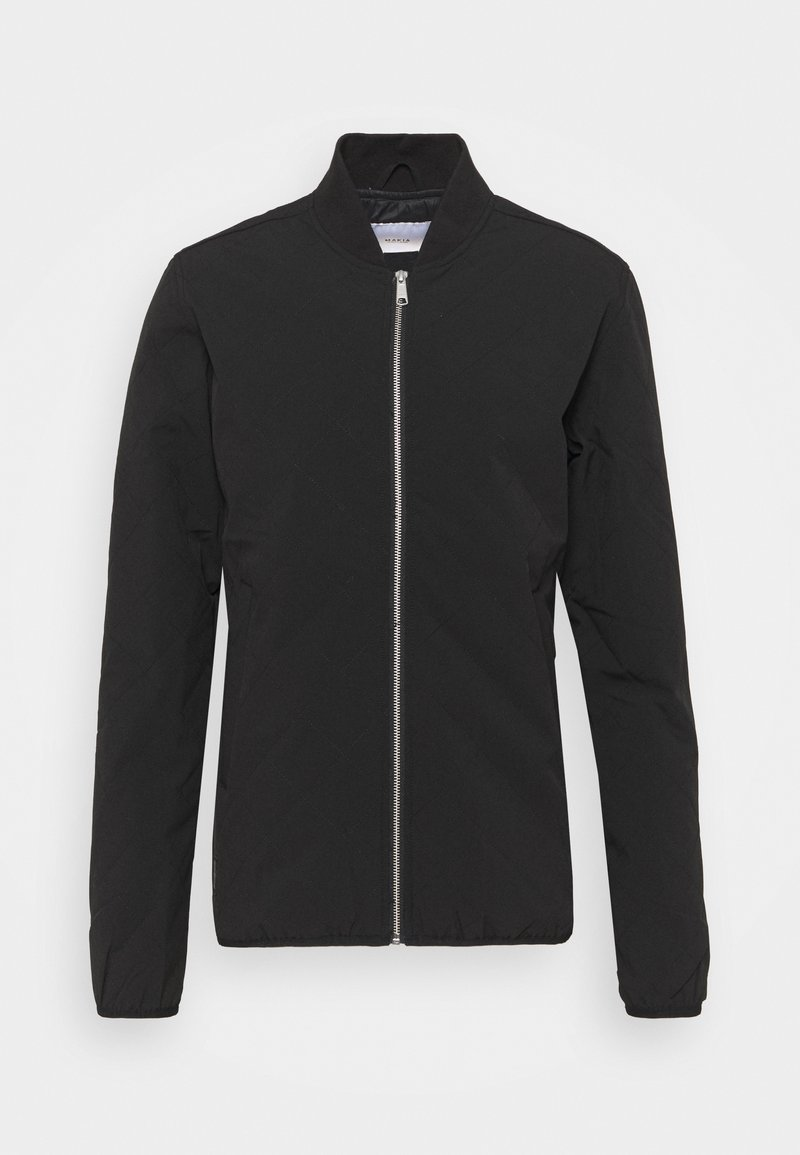 Makia - GRID JACKET - Bombertakki - black