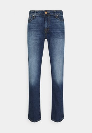 JJICLARK JJICON - Straight leg jeans - blue denim