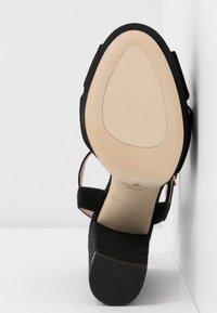 Stuart Weitzman - SOLIESSE - High heeled sandals - black - 6