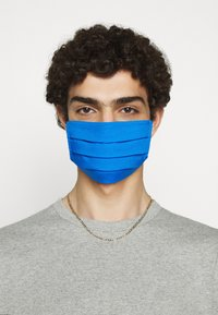 Zign - 3 PACK - Stoffmaske - white/blue/dark blue - 3