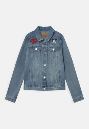 MICKEY MOUSE TRUCKER - Denim jacket - light-blue denim