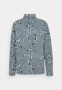 ZANE - Button-down blouse - mid blue