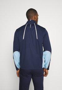 Polo Ralph Lauren Golf - STRATUS UNLINED JACKET - Vodotěsná bunda - french navy/powder blue - 2