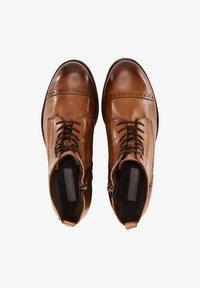 Drievholt - Lace-up ankle boots - mittelbraun - 0